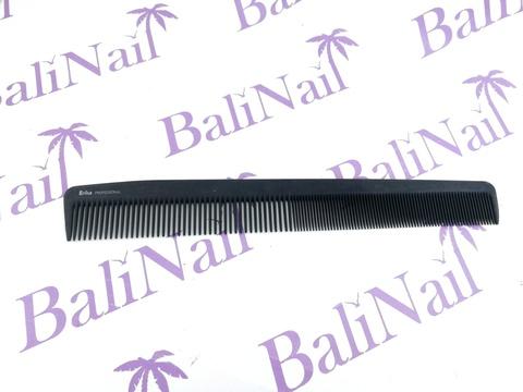 Комбинир-я расческа, Для всех видов стрижек, Карбон, длина 22,5 см.
