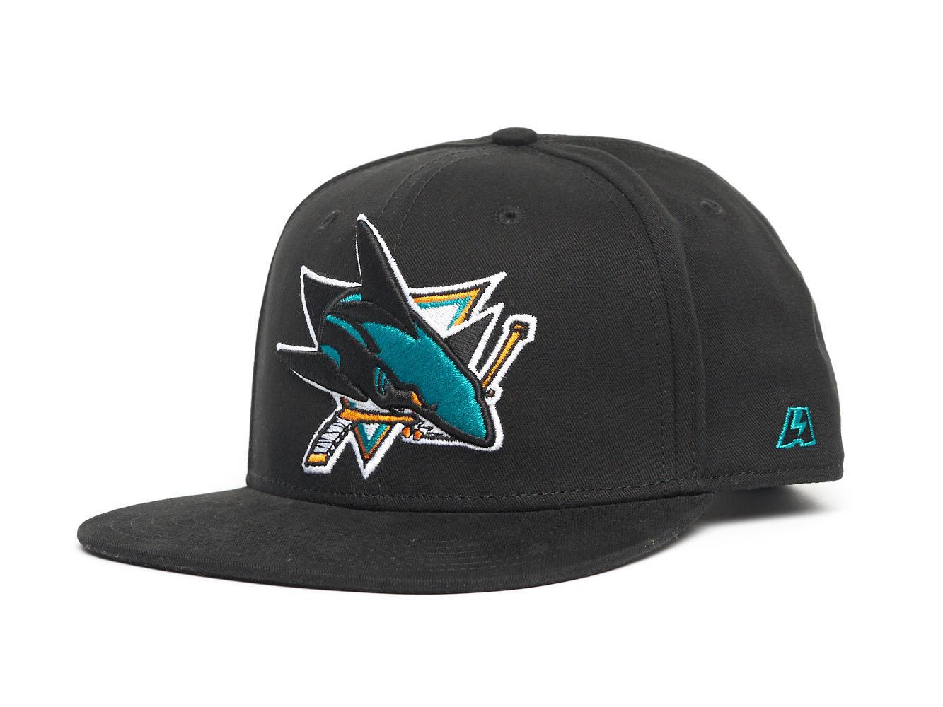 Бейсболка NHL San Jose Sharks Snapback (подростковая)