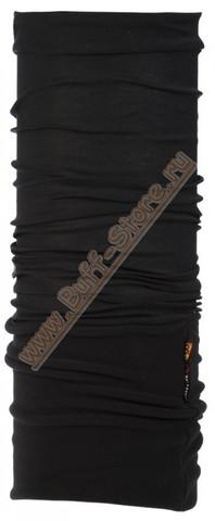 Шарф-труба трансформер Buff Black зимняя