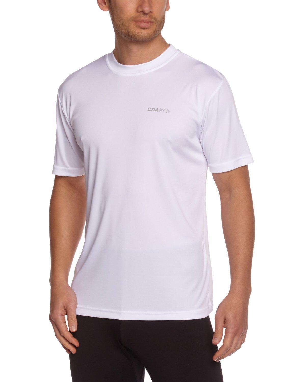Мужская спортивная футболка для бега Craft Active (199205-1900) белая фото