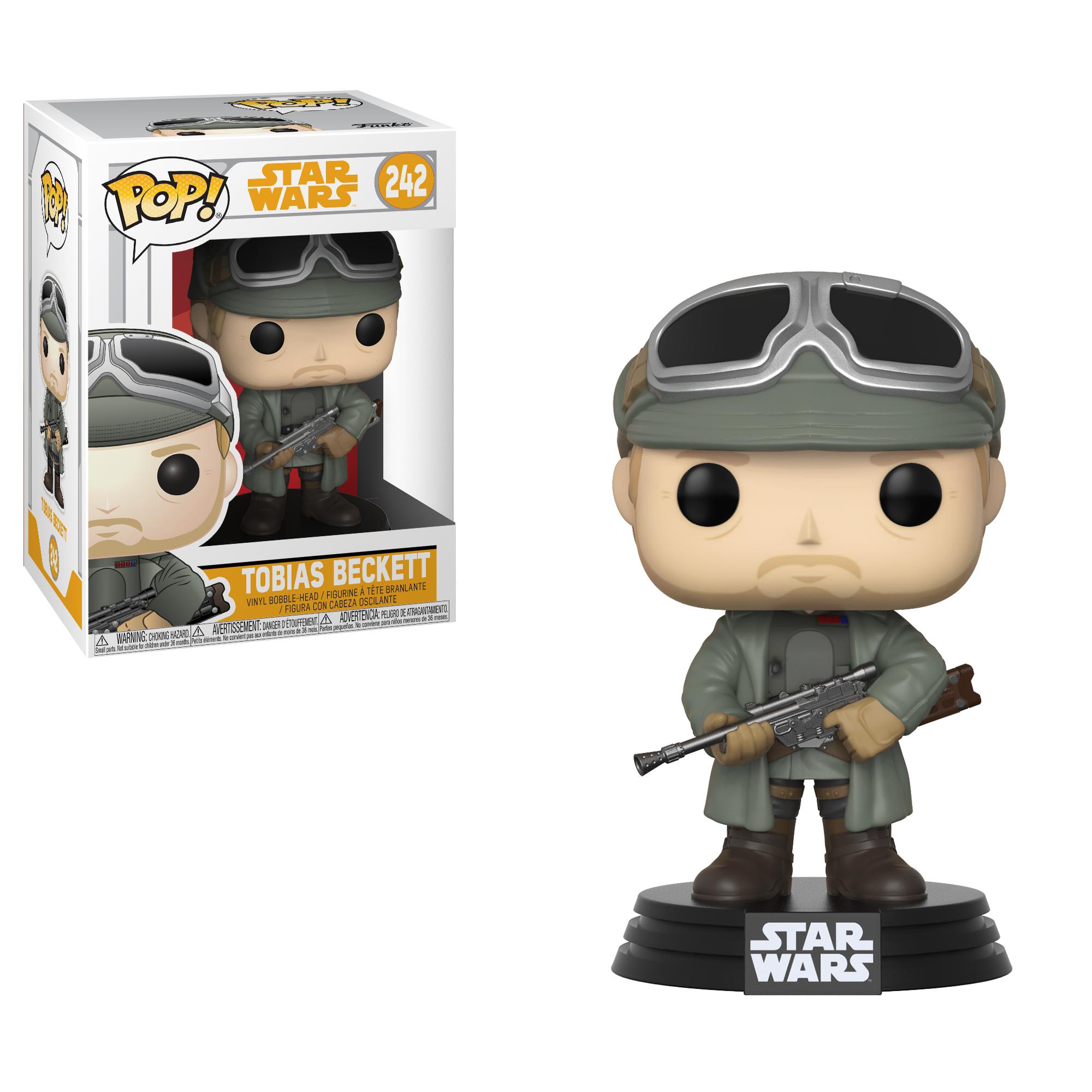 Фигурка Funko POP! Bobble: Star Wars: Solo: Tobias Beckett w/ Goggles POP 8 26979