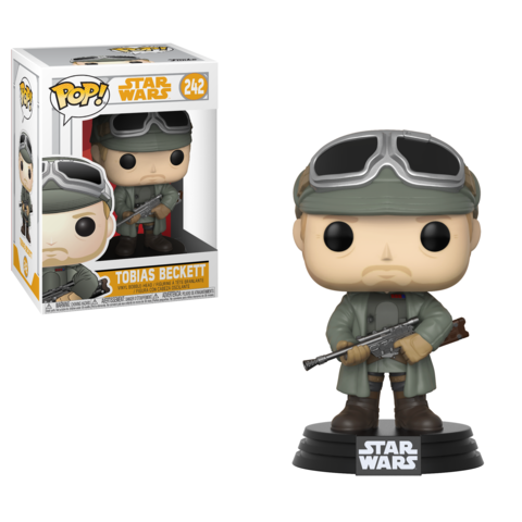 Фигурка Funko POP! Bobble: Star Wars: Solo: Tobias Beckett w/ Goggles POP 8 26979