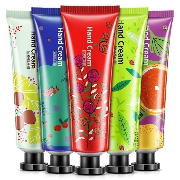Bioaqua Набор кремов для рук 5 шт 5-set Hand Cream Plant Extract Fragrance, 150 г