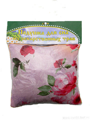 Подушка из трав на основе листа дуба и эвкалипта в инд. упаковке