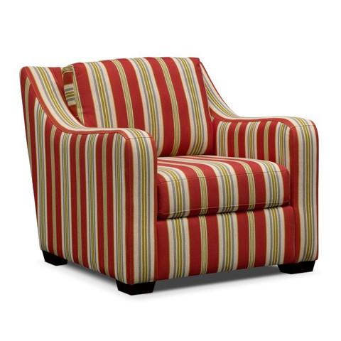 Полосатое кресло для чаепития