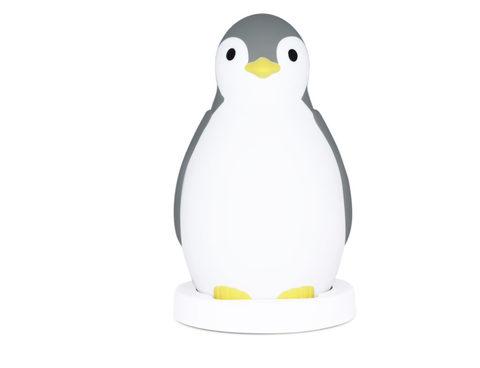 Беспроводная колонка+будильник+ночник пингвинёнок Пэм Серый 0+
