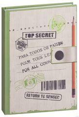 Блокнот Top secret