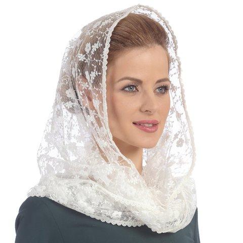 Снуд-шарф в церковь