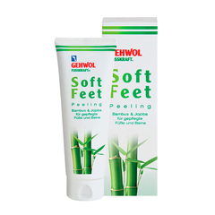 Пилинг Бамбук и жожоба Fusskraft soft feet peeling bambus & jojoba