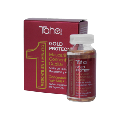 GOLD PROTECT CONCENTRATED HAIR MASK 20ml Несмываемая маска для питания и увлажнения волос