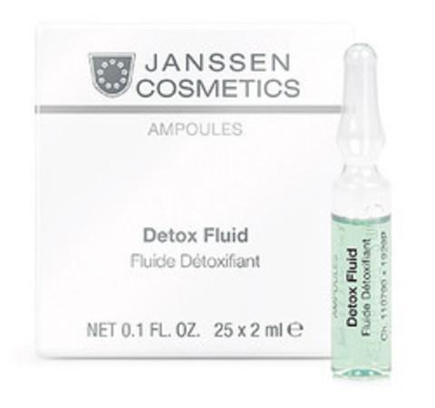Детокс-сыворотка в ампулах, Janssen Cosmetics,25 x 2 мл