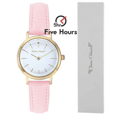 TIME CHAIN highbury leather gold pink 70008/gd/pk