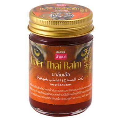 Banna Бальзам Тигровый Tiger Thai Balm, 50 г