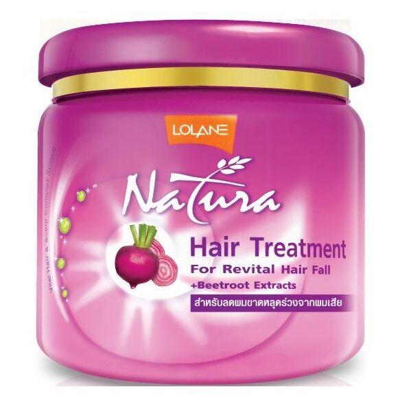 Lolane Маска для волос Экстракт свеклы Natura Hair Treatment Beetroot Extract, 100 мл