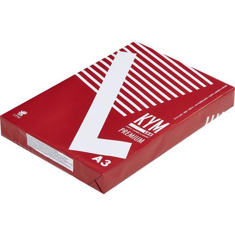 Бумага для ОфТех KYM LUX Premium (А3,80г,170%CIE,FI) пачка 500л.