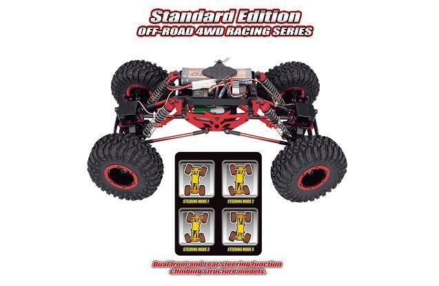 Краулер Remo Hobby Mountain Lion Xtreme RH1072 4WD RTR 1/10
