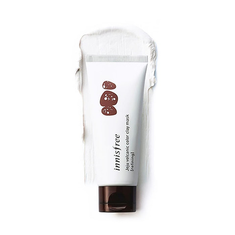 Innisfree Jeju Volcanic Color Clay Mask_white