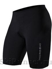 Шорты обтягивающие Nordski Premium Black-Blue мужские