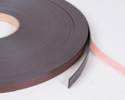 Магнитная лента 12.7 мм с клеем TESA