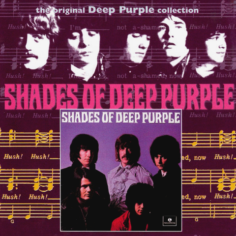 Deep Purple ‎/ Shades Of Deep Purple (RU)(CD)