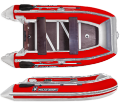 Лодка надувная Polar Bird 385 Merlin (Фанера)