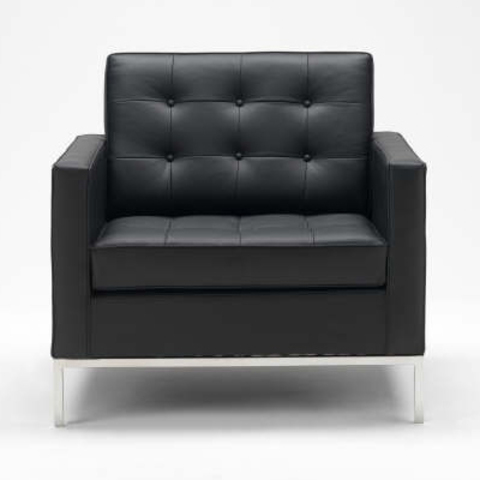 replica Florence Knoll Style  (leather )