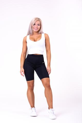 Женские велосипедки Nebbia high waist Road Hero biker shorts 683 black
