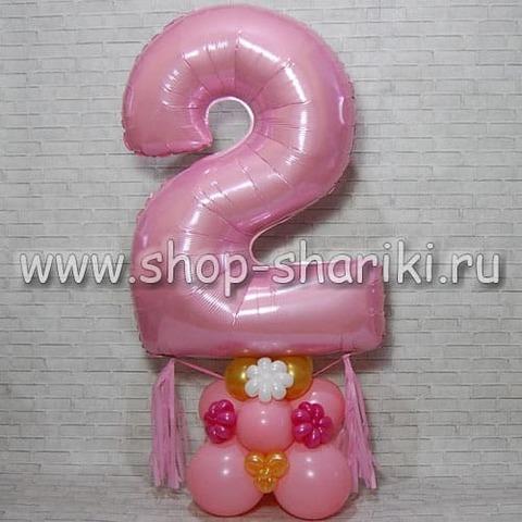 Шар цифра на день рождения