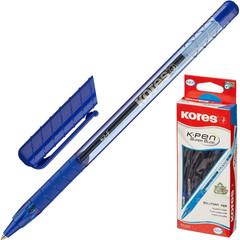 Ручка шариковая KORES К2 0,5мм треуг.корп,син