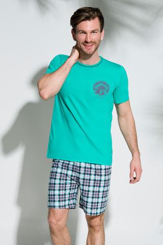 Мужская пижама 8S Szymon 2086 Green Taro