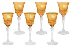 Набор: 6 рюмок для ликера Адажио - янтарная Same
