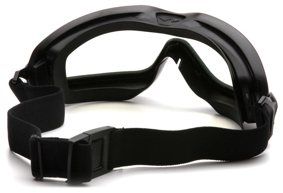 Очки баллистические тактические Pyramex V2G-Plus GB6410SDT Anti-fog Diopter маска прозрачные 96%