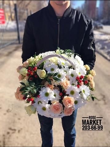 Цветы в корзинке #1772