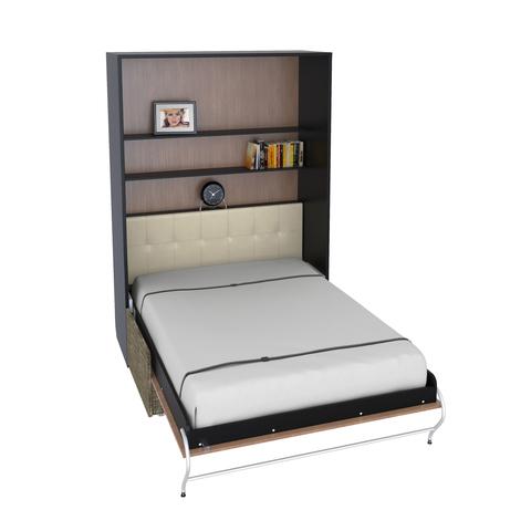 Шкаф-кровать с софой вертикальная двуспальная 140 см