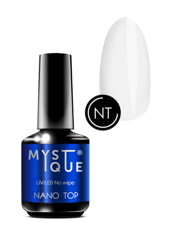Mystique Финишное покрытие без л/с «Nano Top» 15 мл