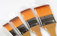 Кисть синтетика флейц с длинной ручкой Paul Cezanne