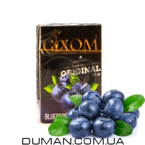 Табак Gixom Blueberry (Гиксом Черника)
