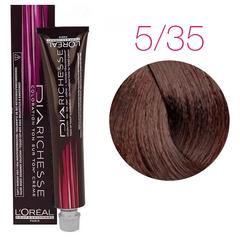 L'Oreal Professionnel Dia Richesse 5.35 (Шоколадный каштан) - Краска для волос