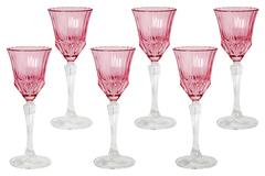 Набор: 6 рюмок для ликера Адажио - розовая Same