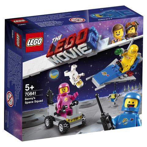 LEGO Movie: Космический отряд Бенни 70841 — Benny's Space Squad — Лего Муви Фильм