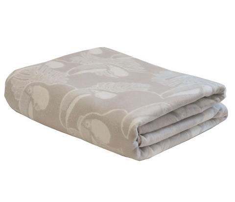 Одеяло байковое Премиум Туканы