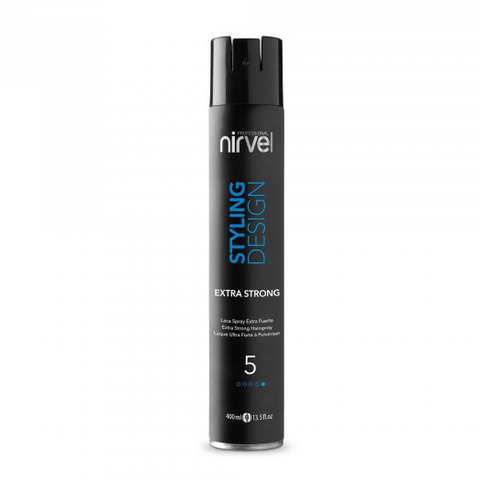 Лак для волос экстра-сильной фиксации Nirvel Hair Spray Extra Strong 400мл