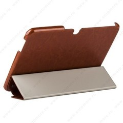 Чехол HOCO для Samsung Galaxy Tab 3 10.1 P5200/ P5210 - HOCO Crystal series Leather Case Brown