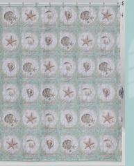 Шторка для ванной 183x183 Creative Bath Sea Treasures