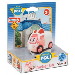 Robocar Poli Эмбер - Умная машинка, 6 см (83242)