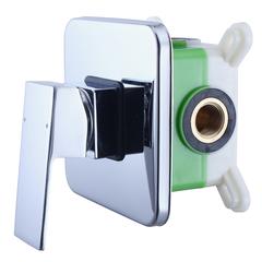 Смеситель встраиваемый на 1 потребителя со встраиваемой частью Swedbe Platta 5522 фото