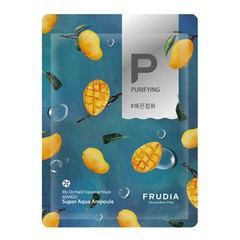 Frudia My Orchard Squeeze Mask Mango - Маска тканевая смягчающая с манго