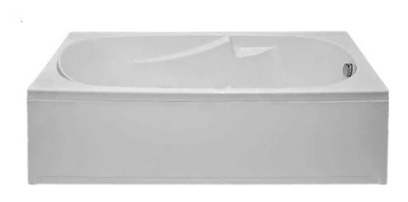 Ванна акриловая BAS Нептун 170x70 стандарт на ножках