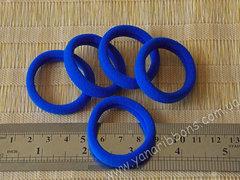 Резинки бесшовные синие