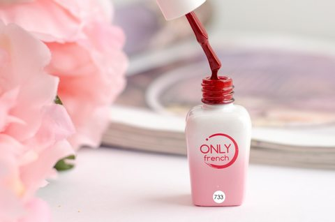 Гель-лак Only French, Red Touch №733, 7ml